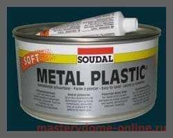 Алкидная шпатлевка по металлу